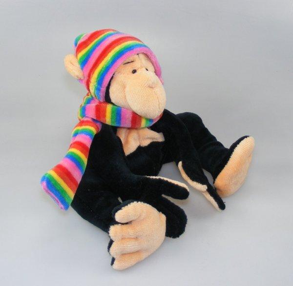 Affenbommel mit Mütze
