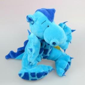 Drachenbommel Dieter blau