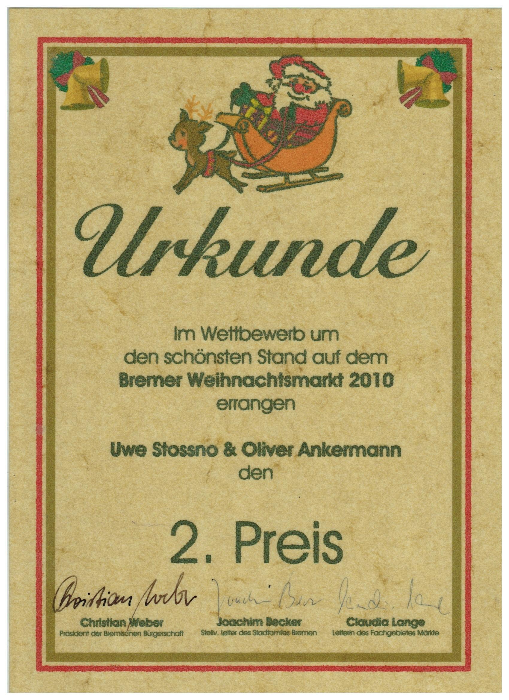 Urkunde-WM-Bremen