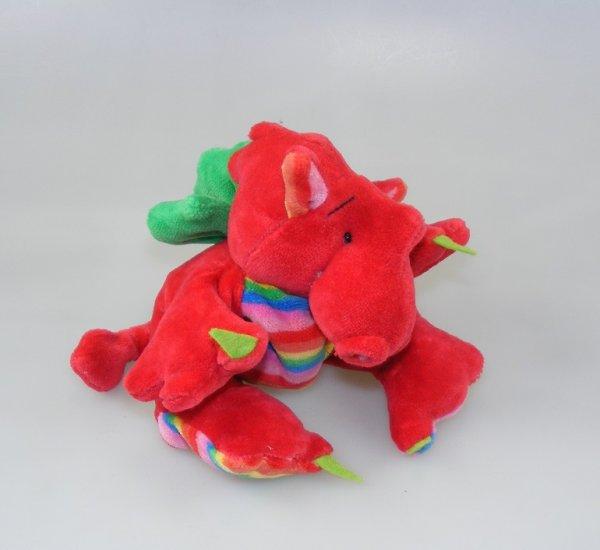 Drachenbommel Baby Didi Erbeer-Regenbogen