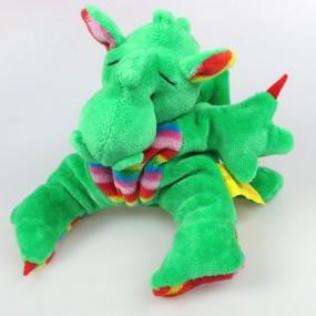 Drachenbommel Baby Grün-Regenbogen mit Flügeln