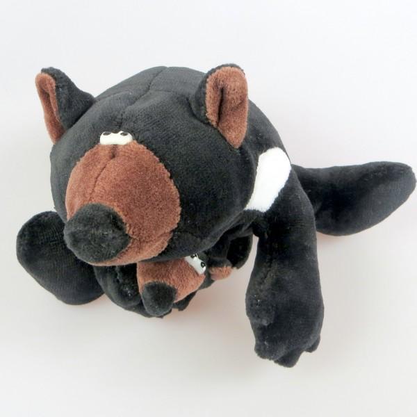 Tasmanischer Teufel mit Baby