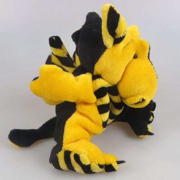 Drachenbommel klein schwarz-gelb